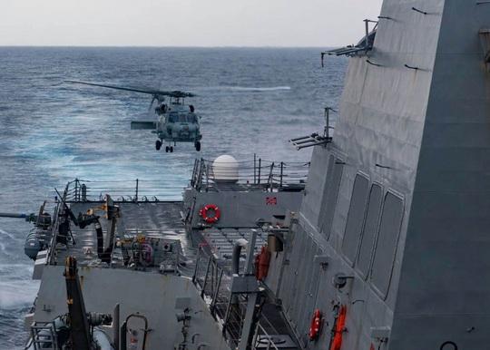 Mỹ tiếp tục thách thức Trung Quốc ở biển Đông - Ảnh 1.