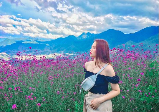 Check in đồi hoa tím, chụp những bức ảnh đẹp để đời - Ảnh 2.