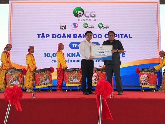 Bình Định: Khởi công dự án năng lượng mặt trời 6.200 tỉ đồng - Ảnh 2.