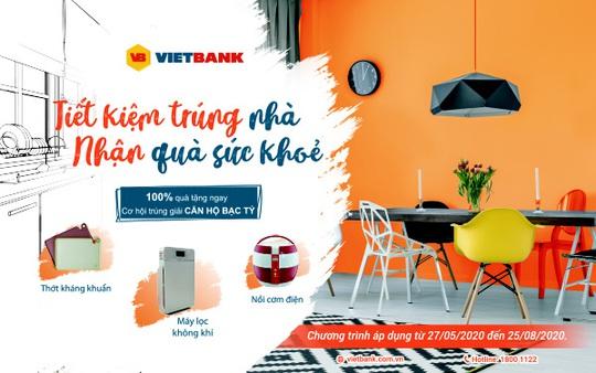 Gửi tiết kiệm tại Vietbank có thể trúng thưởng nhà trị giá 1,5 tỉ đồng - Ảnh 1.