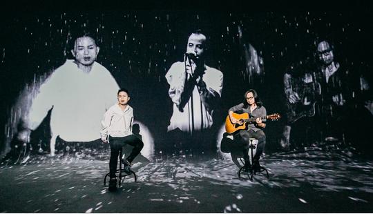 Tùng Dương chìm đắm trong bản ballad đẹp như mơ với cố nghệ sĩ Trần Lập - Ảnh 3.