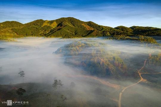 Sương giăng phố núi - Ảnh 8.