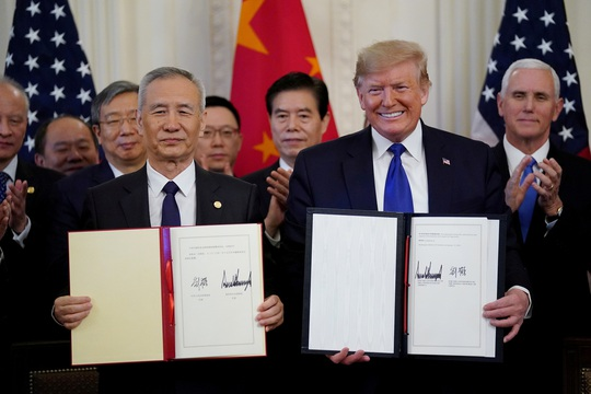 Tổng thống Donald Trump cảnh báo Trung Quốc về thỏa thuận thương mại - Ảnh 1.