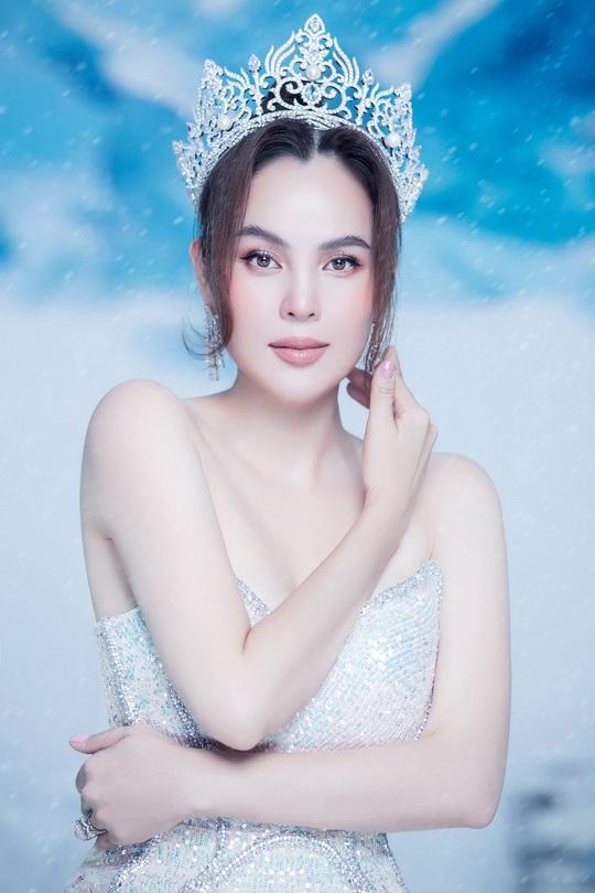 Phương Lê tung bộ ảnh đăng quang Hoa Hậu Quý Bà Hòa Bình Thế Giới 2017 - Ảnh 1.