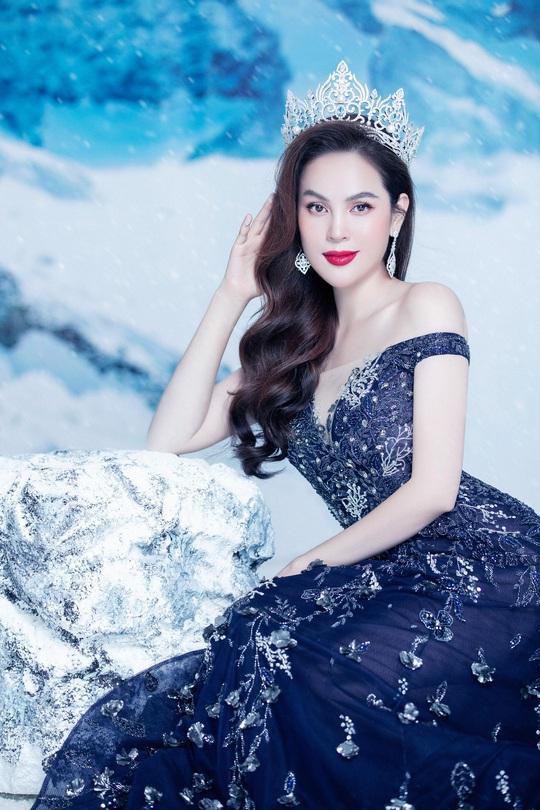 Phương Lê tung bộ ảnh đăng quang Hoa Hậu Quý Bà Hòa Bình Thế Giới 2017 - Ảnh 3.
