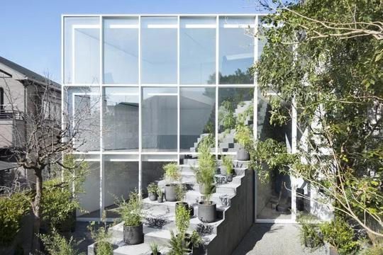 Ngôi nhà ấn tượng với cầu thang xuyên từ ngoài vào trong - Ảnh 11.