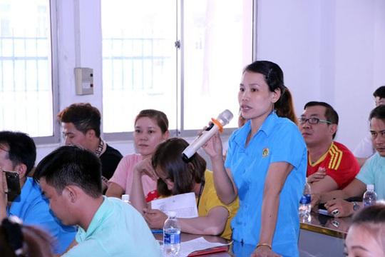 Bình Dương: Bảo đảm quyền lợi qua hội nghị người lao động - Ảnh 1.