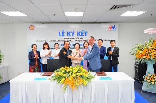 MM Mega Market Việt Nam ký thỏa thuận hợp tác với Hội Đầu bếp chuyên nghiệp Sài Gòn - Ảnh 1.