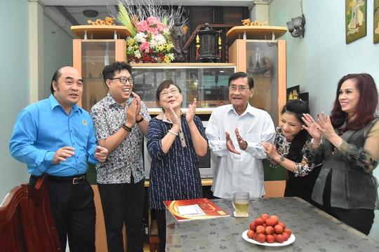 Mai Vàng nhân ái thăm Chu Phác Viên Nam Hùng, Nhuận Điền Thanh Tú và quái kiệt Tùng Lâm - Ảnh 5.