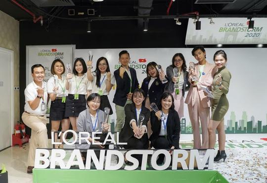 Công bố người chiến thắng cuộc thi L'Oréal Brandstorm Việt Nam 2020 - Ảnh 1.