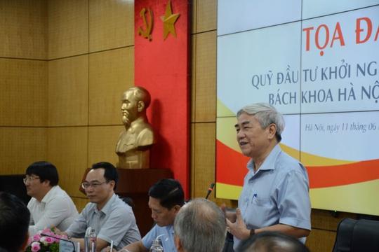Trường ĐH Bách khoa Hà Nội thành lập quỹ đầu tư khởi nghiệp sáng tạo - Ảnh 2.