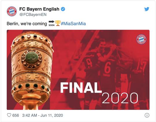 Giành vé dự chung kết DFB Pokal, Bayern Munich hướng tới cú ăn ba lịch sử - Ảnh 2.