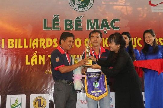 2 nhà báo tên Nguyên xuất sắc tại Giải Bida Báo chí khu vực ĐBSCL lần thứ 13 - Ảnh 2.