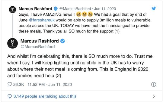 Marcus Rashford: 20 triệu bảng cho những bữa ăn miễn phí mùa cách ly - Ảnh 4.