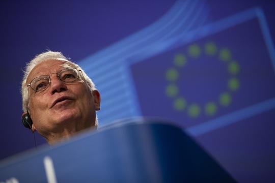 EU nói thẳng không vì Mỹ mà quay lưng với Trung Quốc - Ảnh 1.