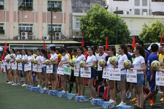 Giải futsal Hội Nhà báo TP HCM: Sân chơi vui khỏe của người cầm bút - Ảnh 4.