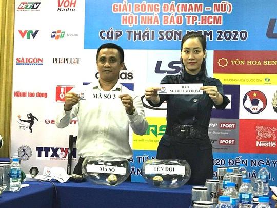 Giải futsal Hội Nhà báo TP HCM: Sân chơi vui khỏe của người cầm bút - Ảnh 3.