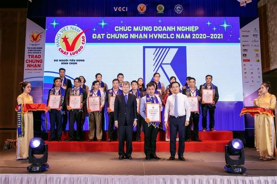 Tổng Công ty Khánh Việt được vinh danh Hàng Việt Nam chất lượng cao lần thứ 14 - Ảnh 1.