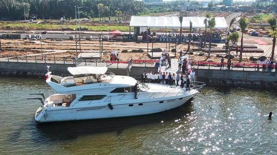 Trải nghiệm bến du thuyền The Pearl Riverside - Ảnh 1.