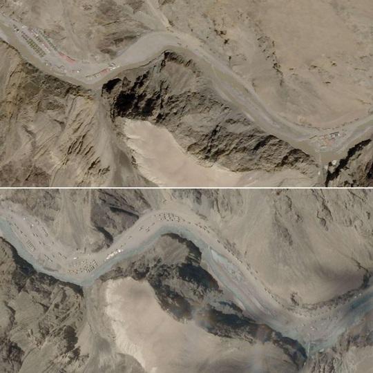Trung Quốc, Ấn Độ cùng đổ bê tông lực lượng ở biên giới - Ảnh 1.