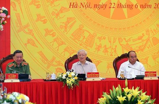 Tổng Bí thư, Chủ tịch nước dự Hội nghị Đảng ủy Công an Trung ương - Ảnh 2.