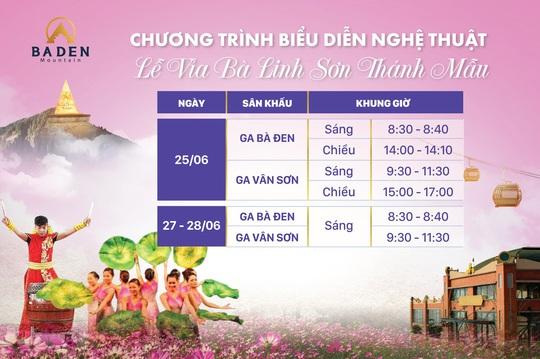 Lễ hội Vía Bà Linh Sơn Thánh Mẫu 2020 - nhiều hoạt động và trải nghiệm mới - Ảnh 9.