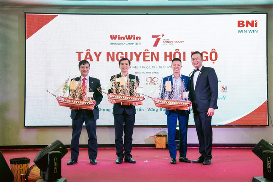Diễn giả - MC Thi Thảo: Chung vui cùng thành công của BNI-Win Win Chapter - Ảnh 5.