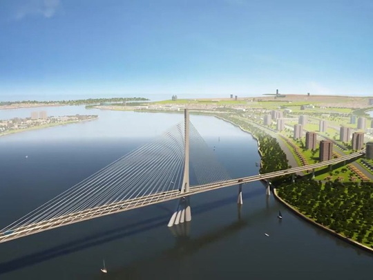 Cầu Cần Giờ sẽ giúp TP.HCM đột phá về hướng biển - Ảnh 1.
