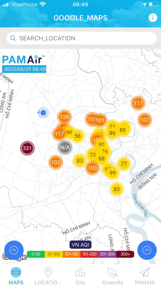Từ nay đến cuối tuần, chất lượng không khí ở TP HCM rất kém - Ảnh 2.