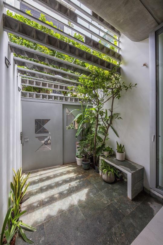 Ngắm ngôi nhà cong độc đáo giữa Sài Gòn - Ảnh 5.