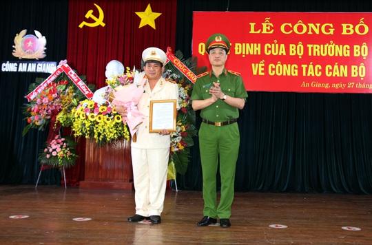 Công an An Giang có tân giám đốc 44 tuổi, đến từ Cần Thơ - Ảnh 1.