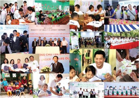 Amway Việt Nam phát hành Báo cáo trách nhiệm xã hội lần 5 - Ảnh 1.