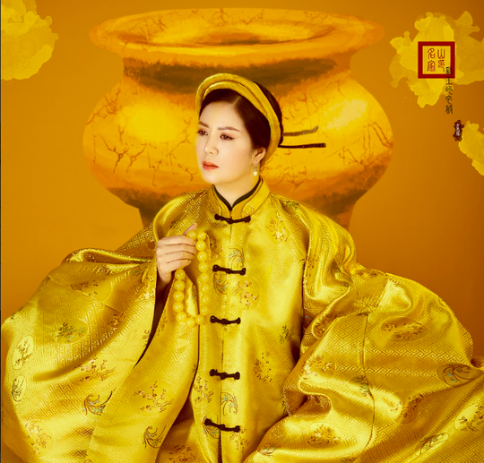 Đinh Hiền Anh đón sinh nhật bằng bộ ảnh hoá mỹ nhân xưa - Ảnh 2.