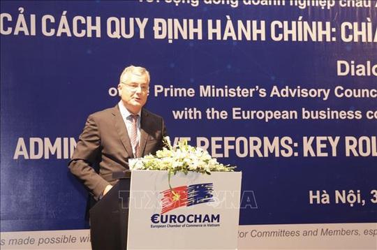 Chủ tịch EuroCham: Việt Nam đang có cơ hội vàng thu hút FDI từ công ty Châu Âu - Ảnh 1.
