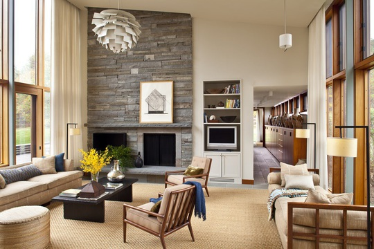 Những mẫu phòng khách khiến bạn chỉ ngắm một lần thôi cũng đủ để nhung nhớ mãi - Ảnh 2.