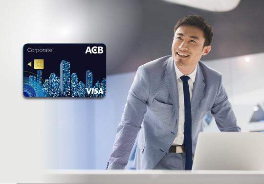 Thẻ tín dụng doanh nghiệp ACB Visa Corporate chào sân - Ảnh 1.