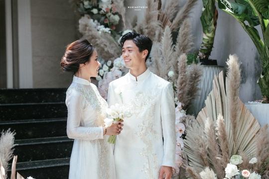 Chùm ảnh Công Phượng rạng rỡ trong ngày đính hôn với Viên Minh - Ảnh 5.