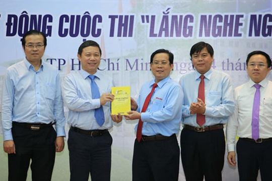 Giải thưởng Cuộc thi Lắng nghe người dân hiến kế lần 2 lên đến 120 triệu đồng - Ảnh 1.