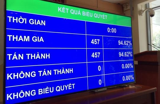 Quốc hội chính thức thông qua Nghị quyết phê chuẩn EVFTA - Ảnh 1.