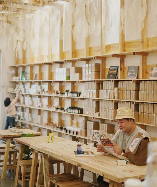 4 quán cà phê phong cách Đà Lạt giữa lòng TP HCM - Ảnh 10.