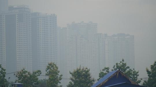 Mù sương lại dày đặc ở TP HCM, vì sao? - Ảnh 2.