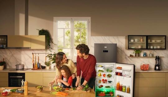 Beko ra mắt tủ lạnh công nghệ mới với ánh sáng vi chất HarvestFresh - Ảnh 1.