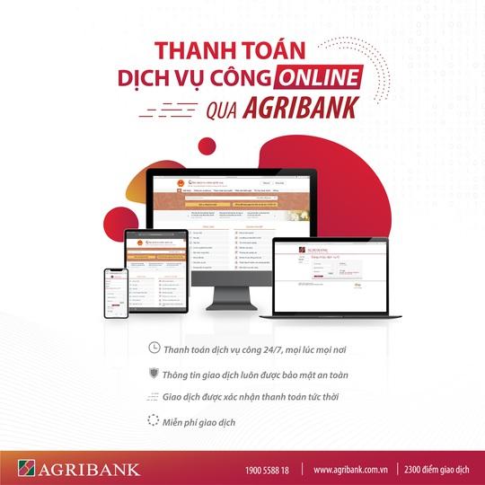 Agribank tiếp tục đẩy mạnh ứng dụng công nghệ vào thanh toán các dịch vụ công - Ảnh 1.
