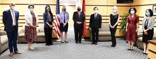 Tổng Bí thư, Chủ tịch nước và Tổng thống Donald Trump chúc mừng 25 năm quan hệ Việt - Mỹ - Ảnh 4.