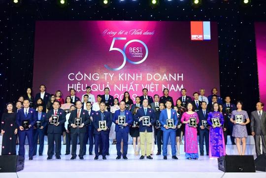 Chính thức công bố TOP 50 Công ty kinh doanh hiệu quả năm 2019 - Ảnh 1.