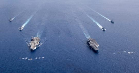 Bị Mỹ giáng đòn mạnh ở biển Đông, Trung Quốc lên tiếng ra sao? - Ảnh 1.