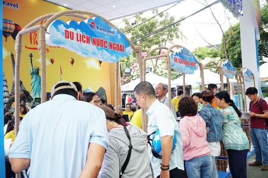 Ngày hội Du lịch TP HCM: Hấp dẫn khuyến mại tại gian hàng Vietravel - Ảnh 1.