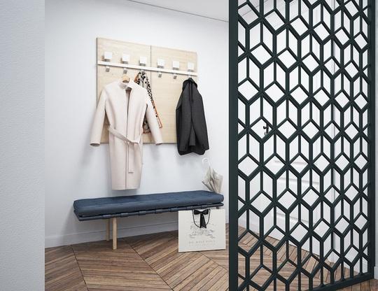 Căn hộ 1 phòng ngủ được trang trí đẹp như studio - Ảnh 1.