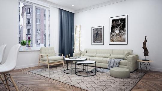 Căn hộ 1 phòng ngủ được trang trí đẹp như studio - Ảnh 2.