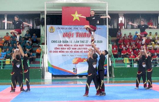 Tưng bừng Hội thao CNVC-LĐ Quận 11 - Ảnh 1.